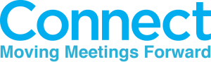 logo for connect meetings with link