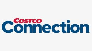 logo for costco connection magazine with link