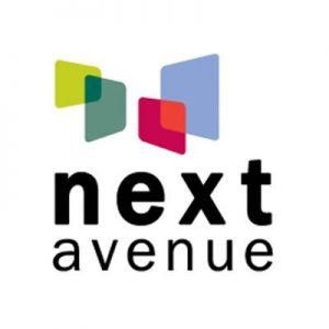 logo for next avenue magazine with link
