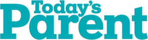 logo for today's parent magazine with link