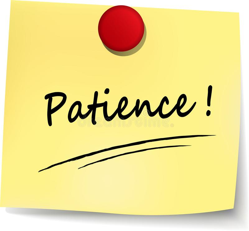 Patience: What Word Would You Use?